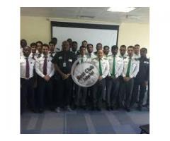 কাতারের সিকিউরিটি গার্ড British কোম্পানি Falcon Security Services-Doha-Qatar